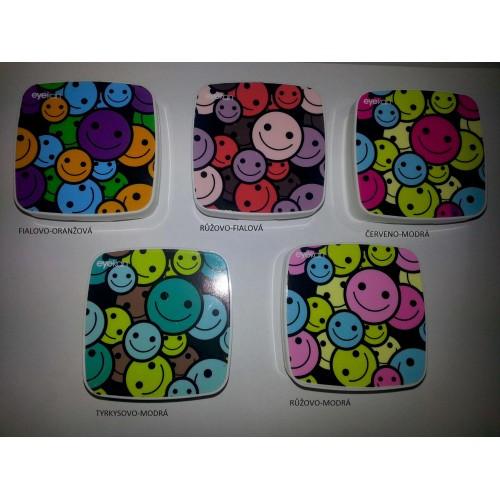 Kazeta na kontaktní čočky - smajlíci